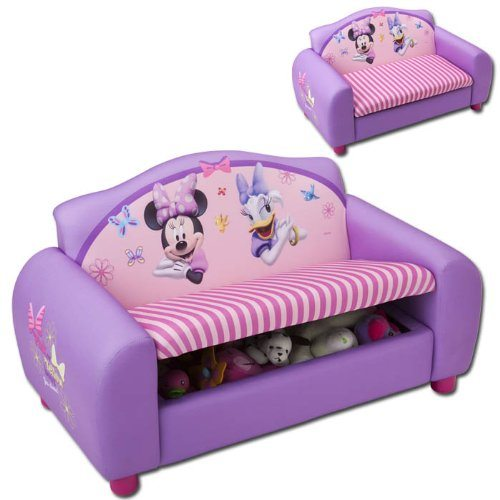 Günstige Lounge Sessel Kindersofa Minnie Mouse