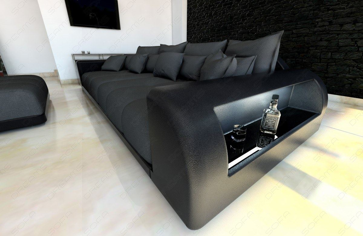 Big Sofa Xxl Schwarz Big Hocker Cool Sam Big Sofa Schwarz Cm Hocker Optional Jupiter