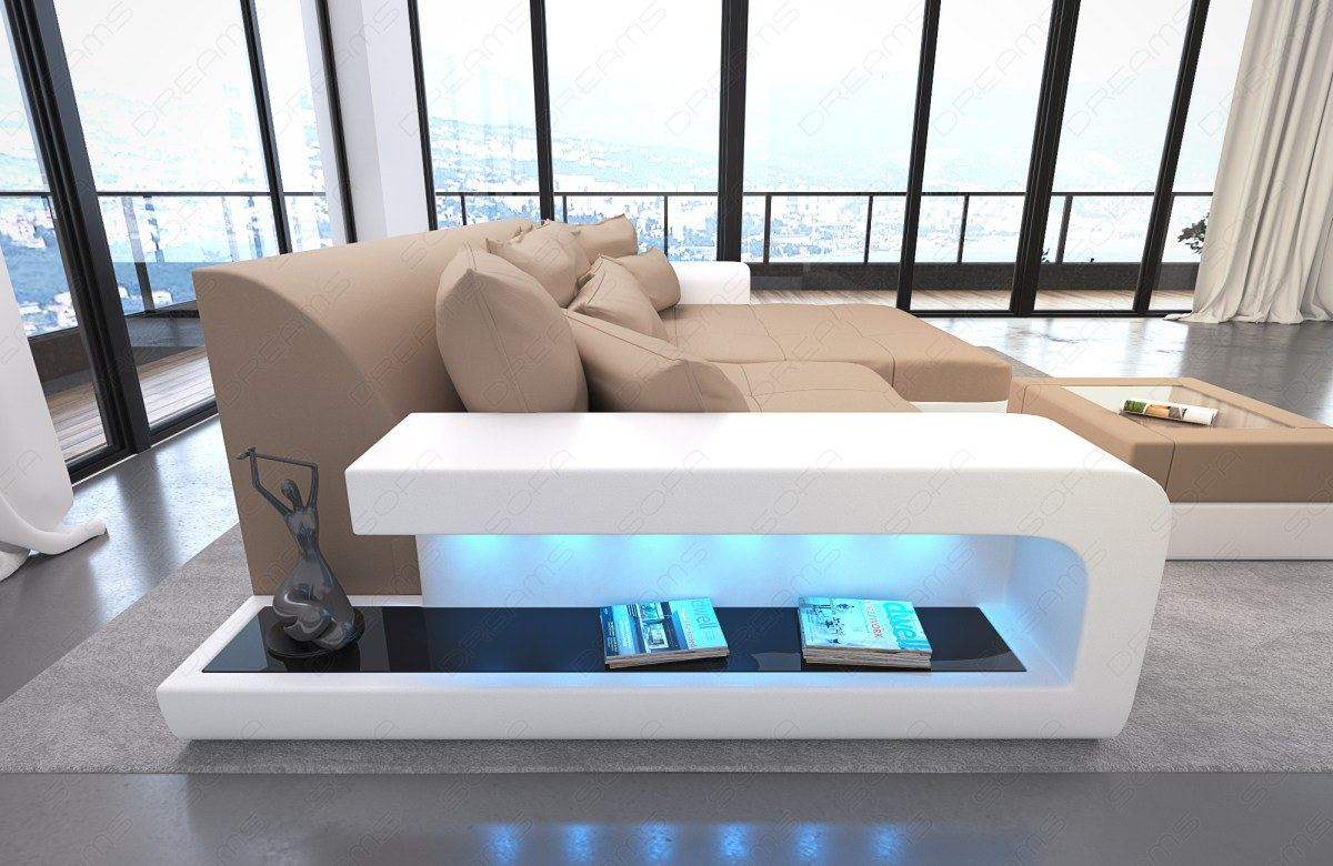 Big Couch Details Zu Couchgarnitur Ecksofa Stoff Couch Big Sofa Milano Xxl Megasofa Led Beleuchtung