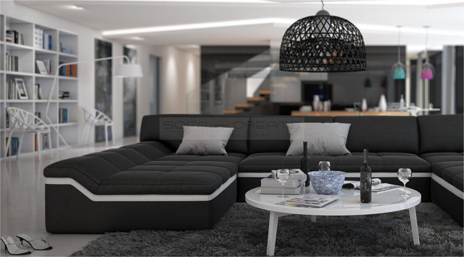U Form Couch Moderne Wohnlandschaft Barari U Form Sofa Design Couch