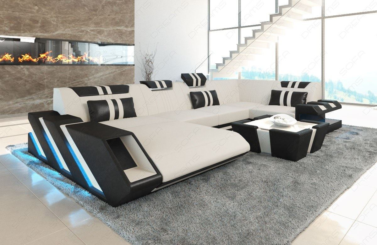 Wohnlandschaft Chenille Details About Sofa Fabric Sectional New Jersey U Shape Corner Couch Living Room Led
