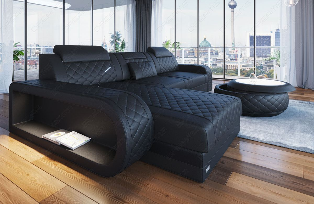 Ledersofas In Berlin Ledersofa Eckcouch Sofa Design Luxus Couch Berlin L Form