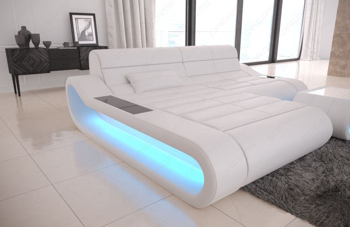 Designer Couch Klein Details About Design Leather Sofa Concept L Shape Short Luxury Corner Couch With Led Lights