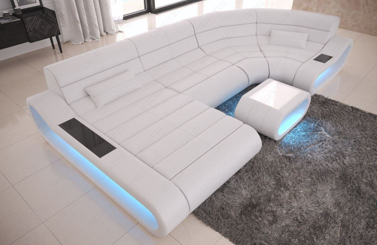 U Couch Details About Luxury Sectional Sofa Concept U Shape Design Couch Big Led Lights Ottoman