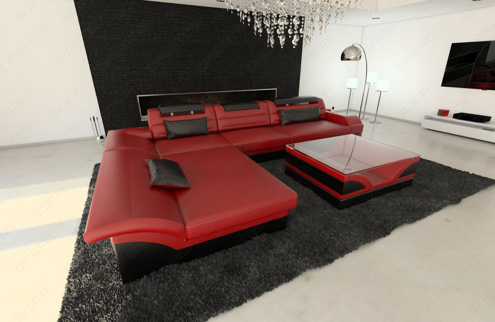 Ledersofa Rot Sofa Rot Free Tom Tailor Sofa Wohnzimmer Eckcouch Switch Ecksofa