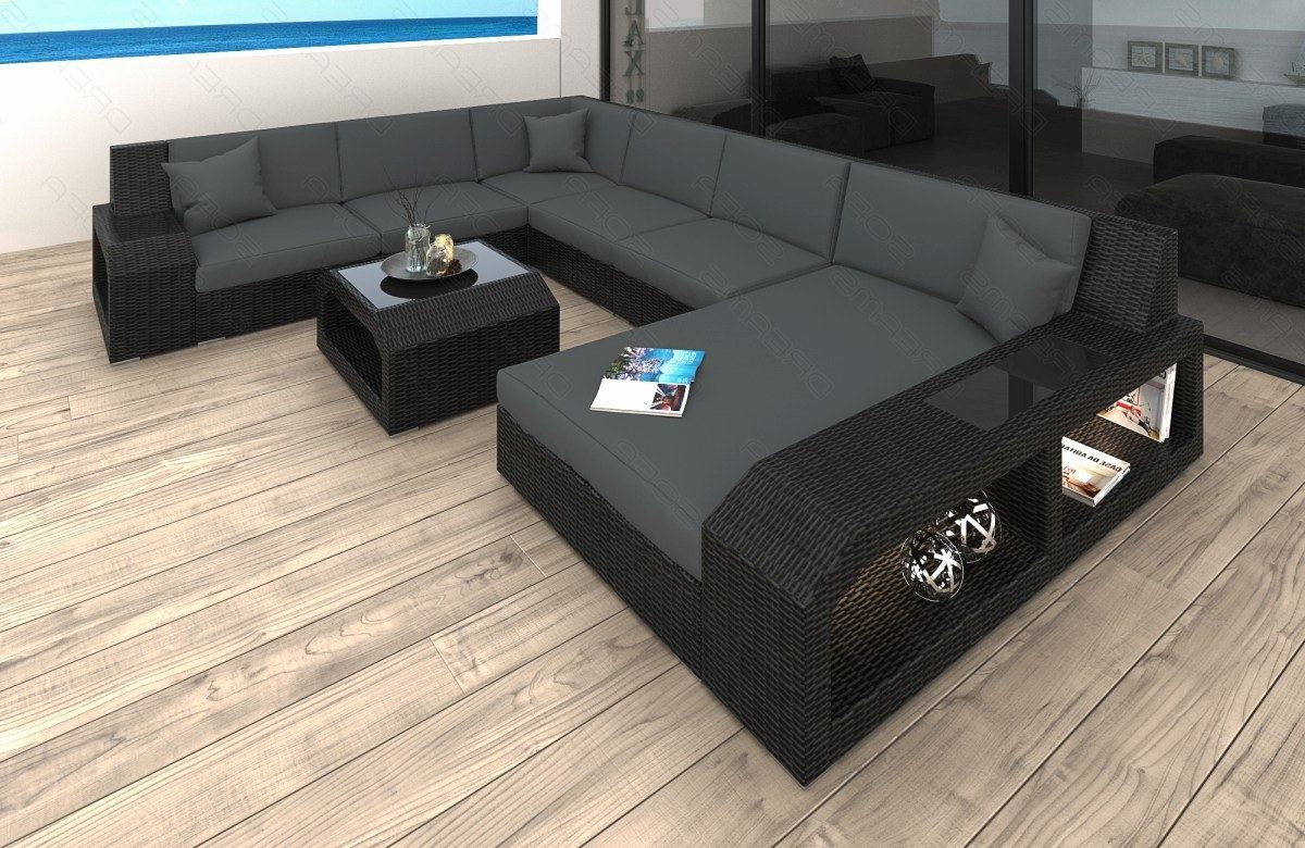 Lounge Sessel Microfaser Rattansofa - Angebote Auf Waterige