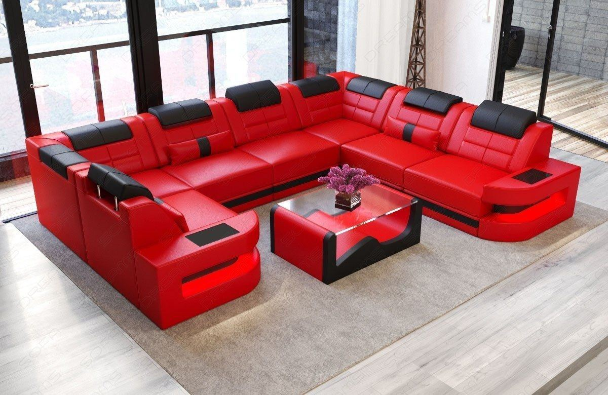 Couch Rot Couch Rot Leder Big With Couch Rot Leder Elegant