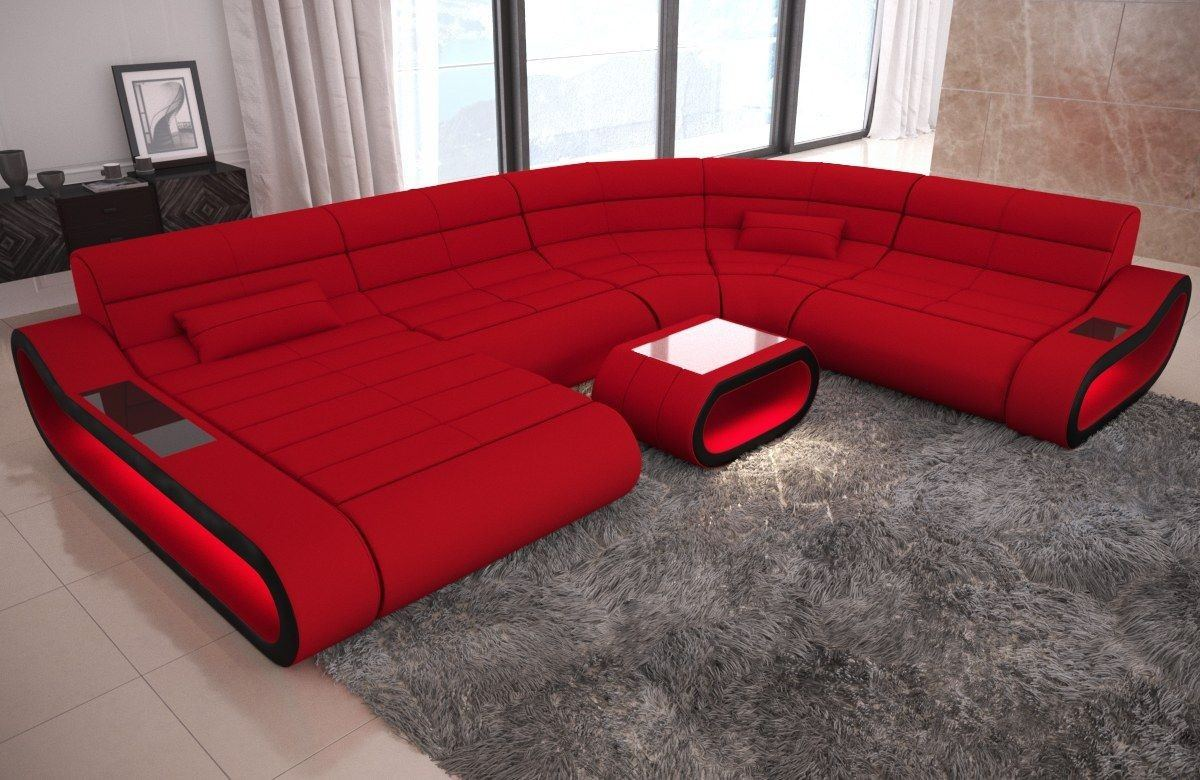 Big Sofa Xxl Beige Big Sofa Concept Xxl Stoff Mix Wohnlandschaft Stoff