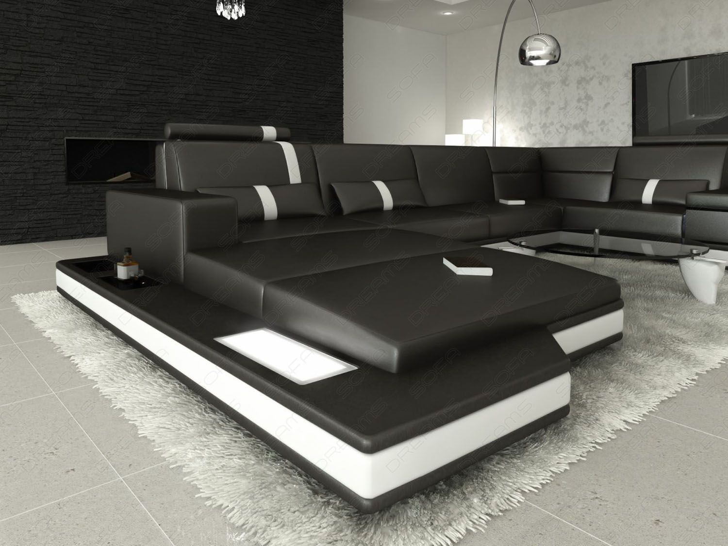 Design A Couch Sofas And Ledersofa Ledersofa Wohnlandschaft Messana