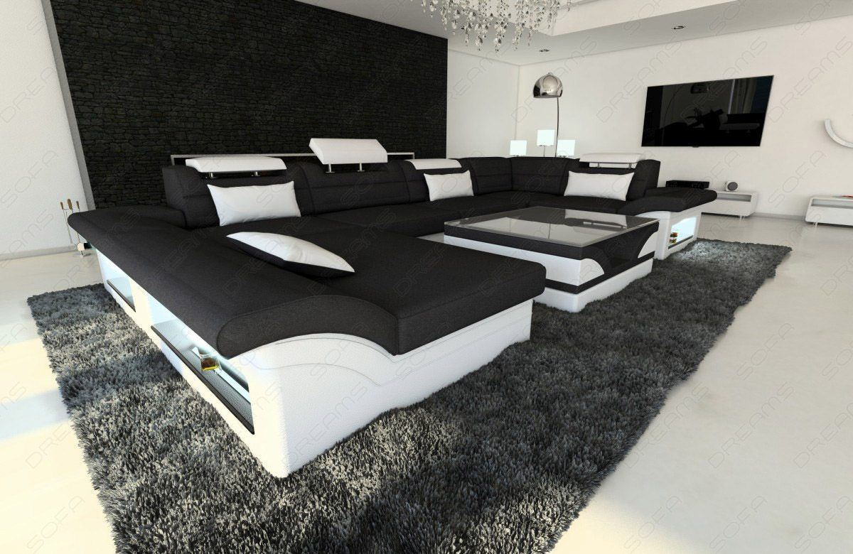 U Form Couch Sofas And Ledersofa New Look Stoffsofa Enzo Led U Form