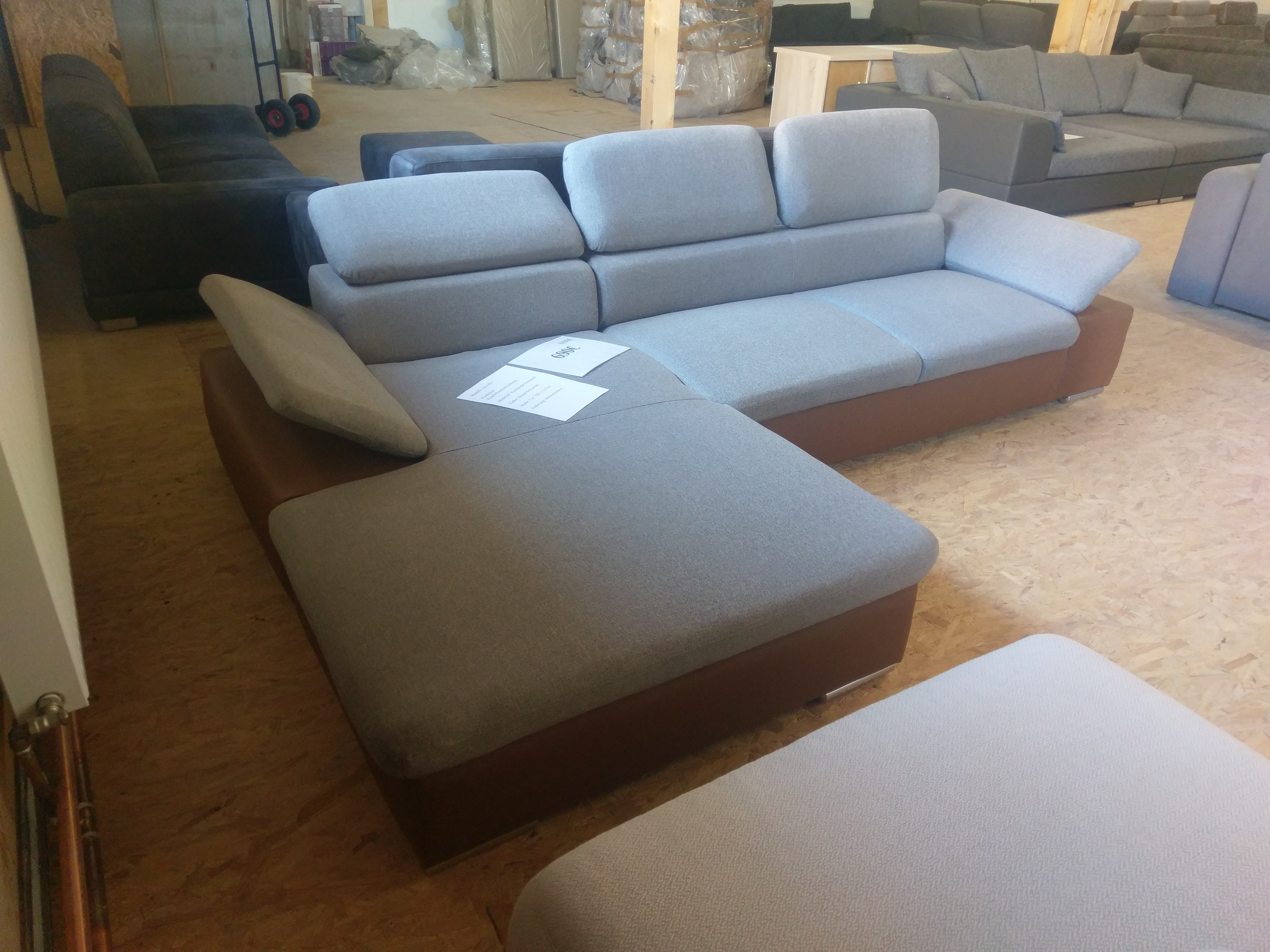 Couch Xl Xl Sofas Ecksofa Polsterecke Couch Kopffunktion Sofa