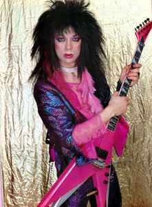 Cool Girl With Guitar Wallpaper Kiss Vinnie Vincent Is Back And Possibly Transgender