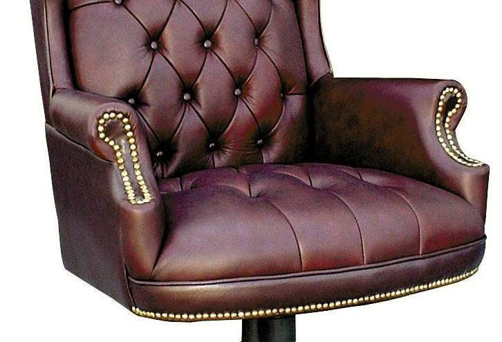 Office Sofa With High Back Teknik Office - Chairman Leather Executive Swivel Chair