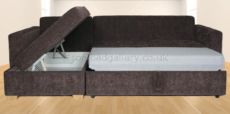 Sofa Fabric Name Penthouse Corner Sofabed With Storage | L Shaped Sofa Bed