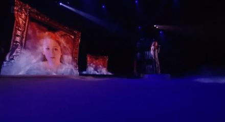 Janet Devlin goes up in smoke