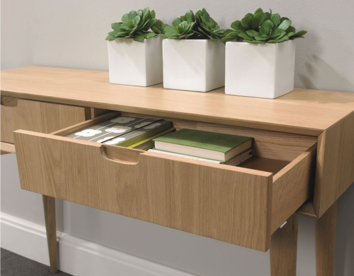 Freedom Console Table Stockholm Console Table With Drawers Walnut Sofa Concept