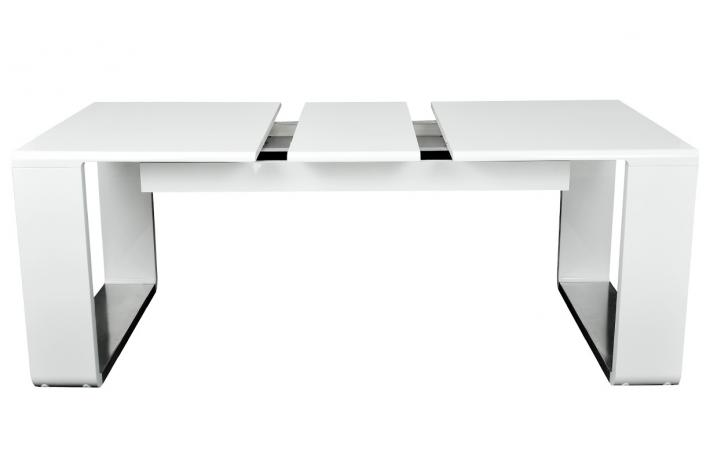 Table Blanche Extensible Table Design Extensible Blanche