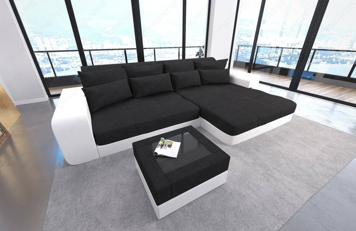Sofa Led Big Fabric Sofa San Diego With Led