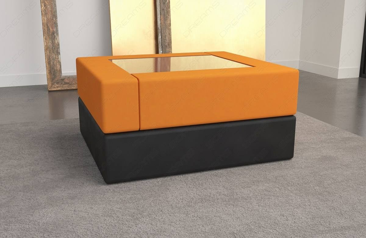 Couchtisch Orange Fabric Coffee Table San Diego