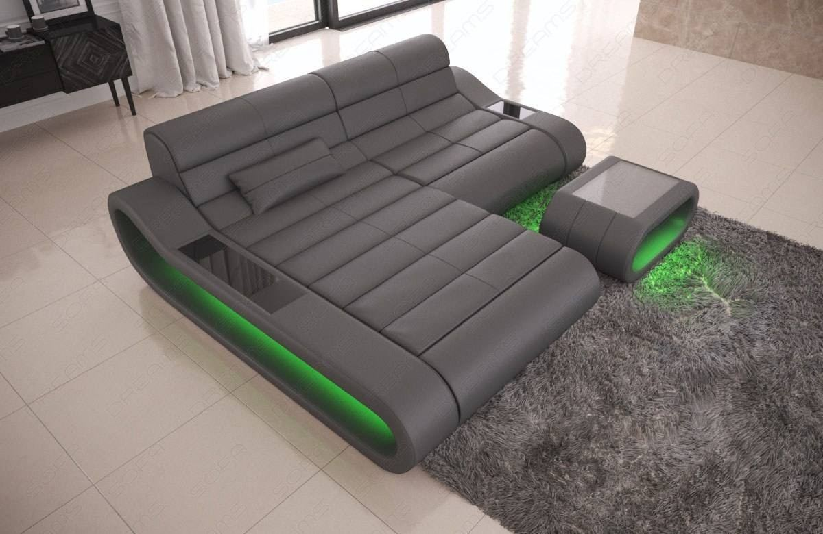 Couch Grau Modular Sectional Sofa Concept L Short
