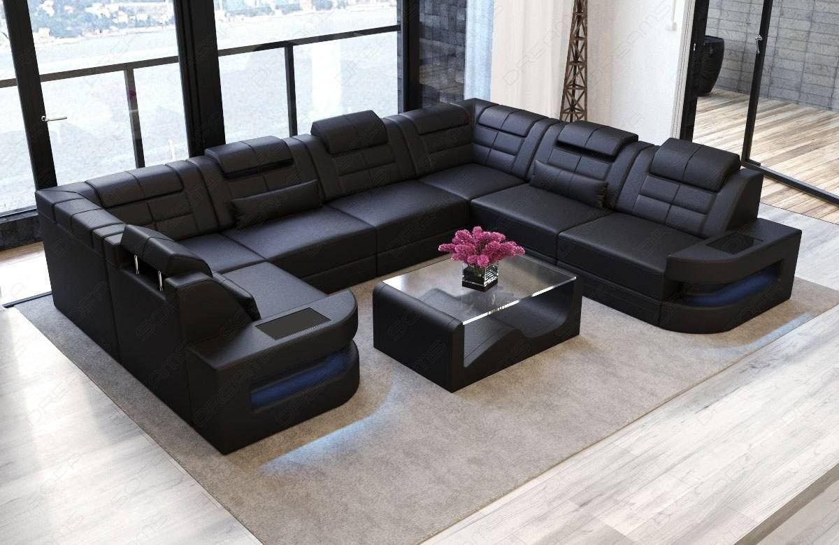 U Couch Large Sectional Sofas