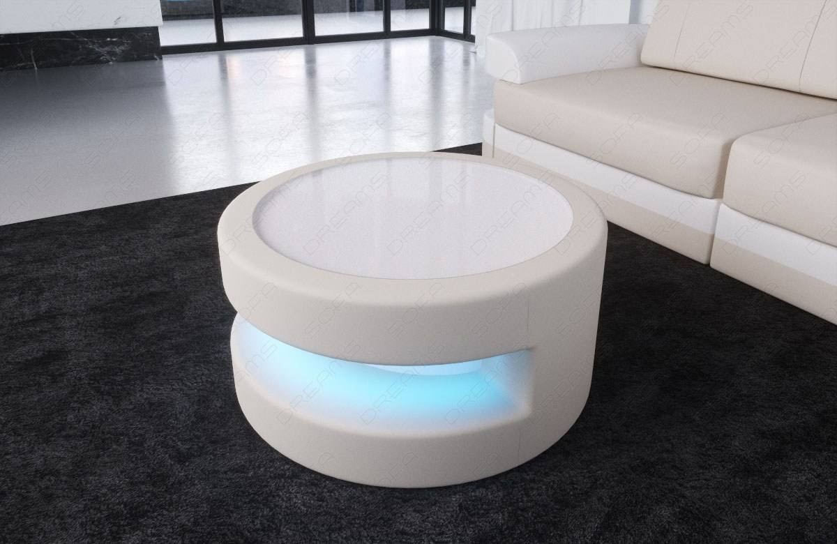 Couchtisch Design Led Fabric Coffee Table Tampa With Led