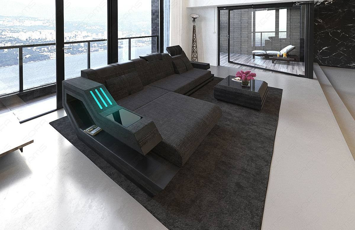 Sofa Relax Con Usb Modern Sectional Fabric Sofa Hollywood L Shape With Led And Usb