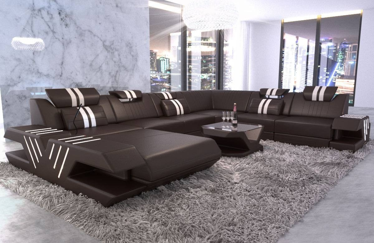 Big Sofa Xxl Schwarz Big Sectional Sofa Beverly Hills Xl Leather