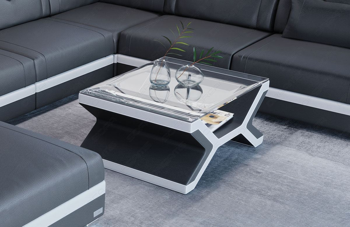 San Francisco Leather Coffee Table Sofadreams