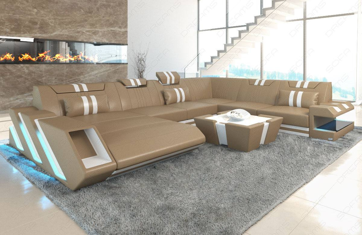 New New Jersey XL Leather Sofa | Sofadreams