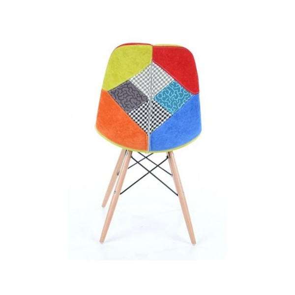 Chaises Scandinaves Patchwork Chaise Scandinave Patchwork. Chaise Patchwork Style