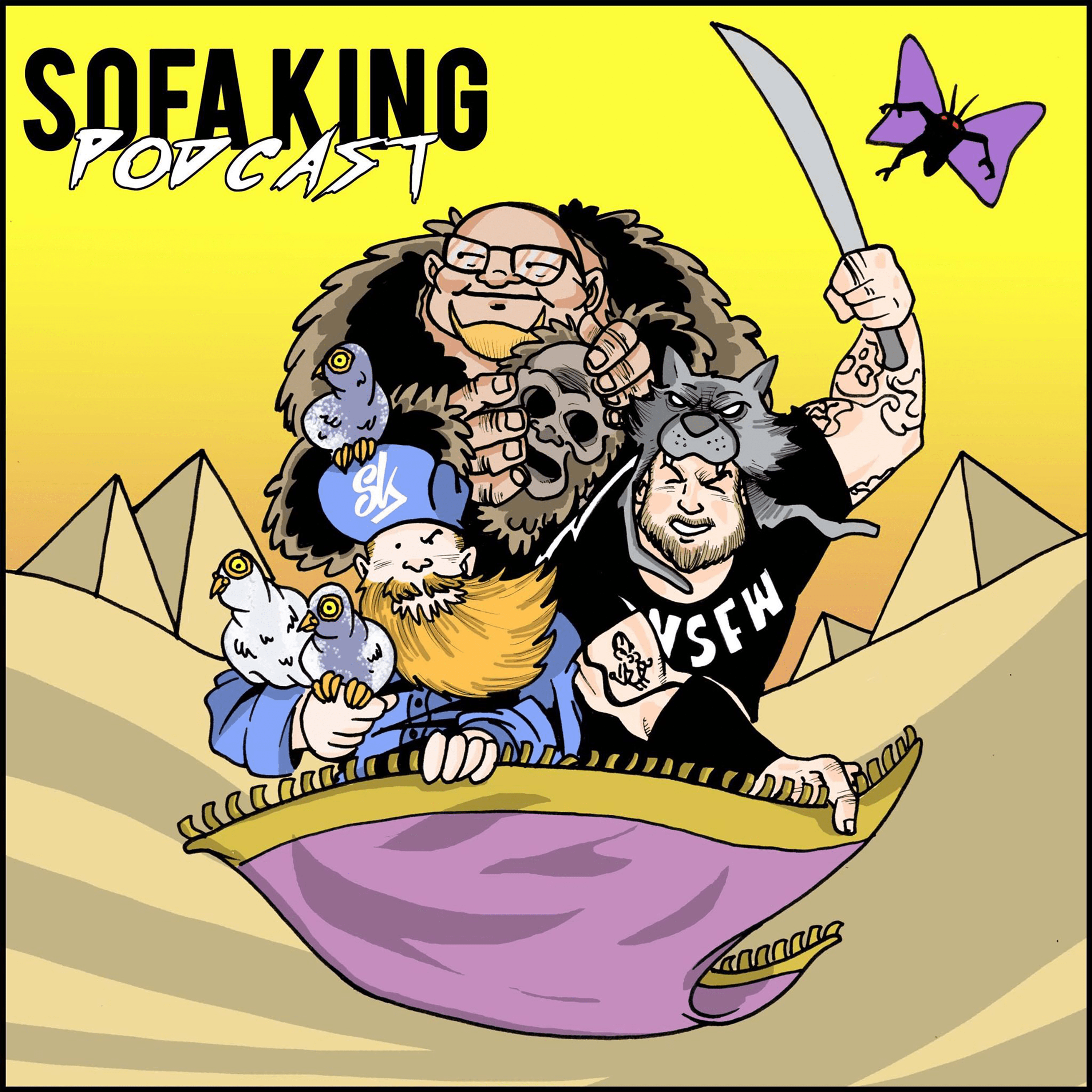 Sofa King Queen Sofa King Podcast