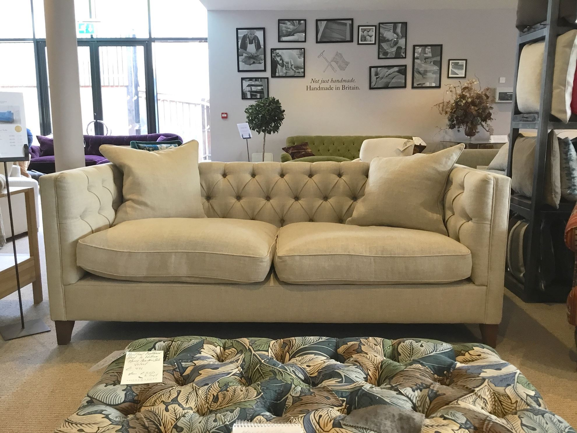 Sofas And Stuff Haresfield Haresfield Sofa In Sole Linen S S Clearance