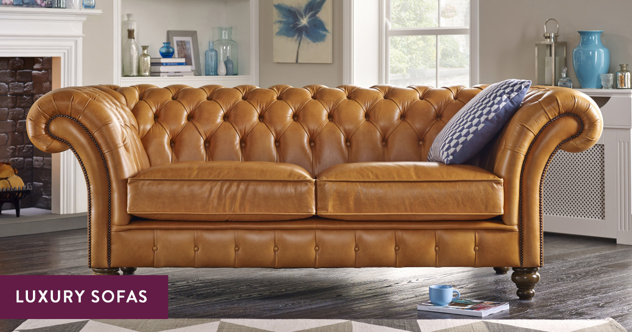 Luxury Sofas High End Couches Handmade In The Uk Sofas By Saxon