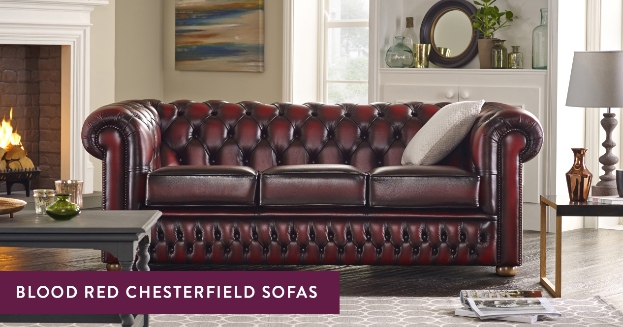 Chesterfield Suites Blood Red Chesterfield Sofas Handmade In The Uk Sofas By Saxon