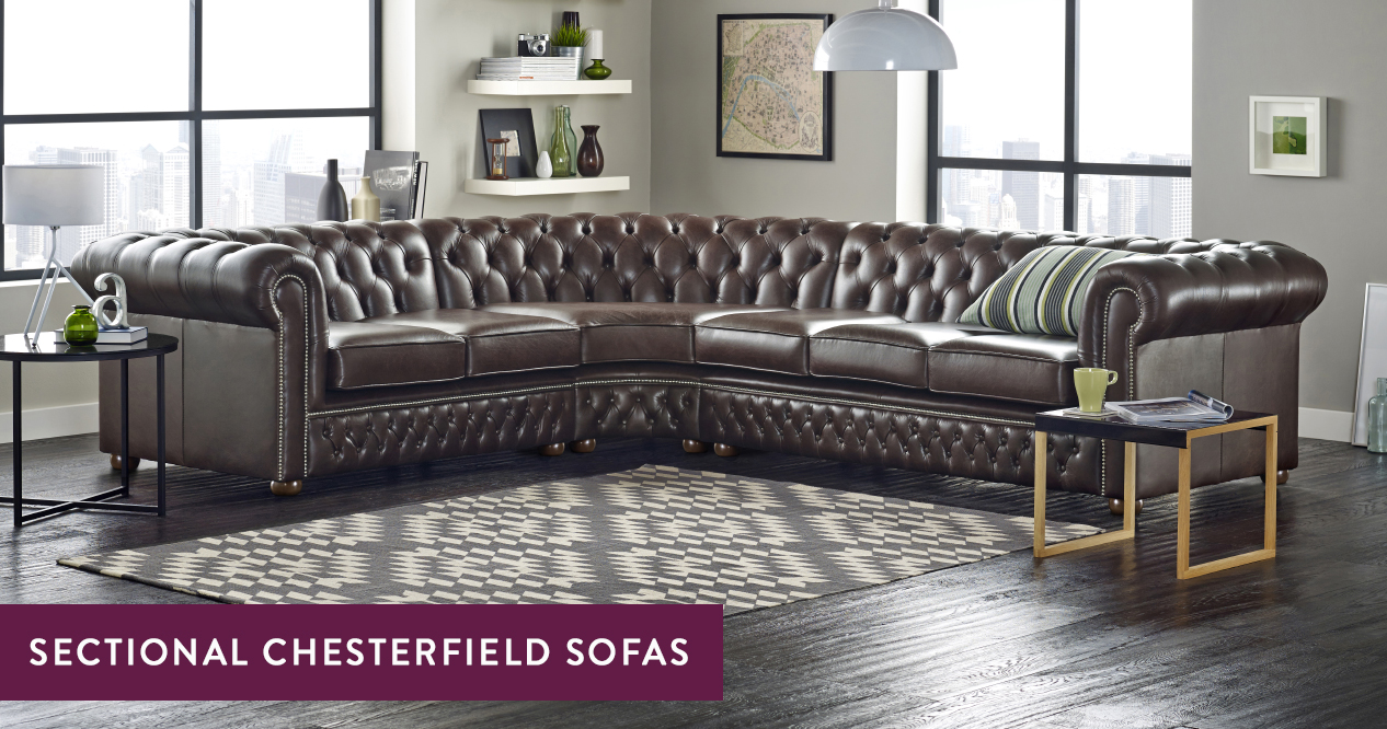 Chesterfield Sectional Sofa Sectional Chesterfield Sofa Handmade In The Uk Sofas By Saxon