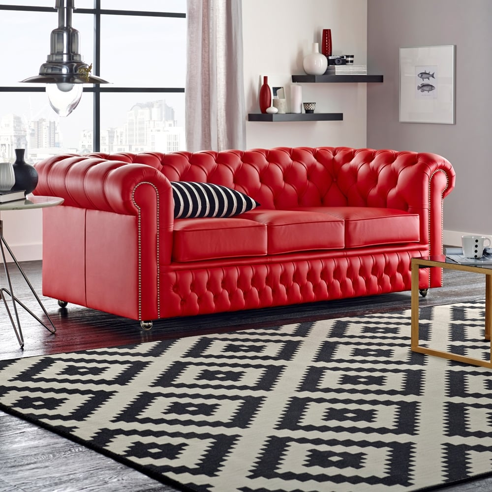4 Seater Chesterfield Corner Sofa Buy A 4 Seater Chesterfield Sofa At Sofas By Saxon