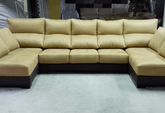 Sofa Reclinable Doble Fábrica De Sofás Y Colchones: Sofa Doble Chaise Longue