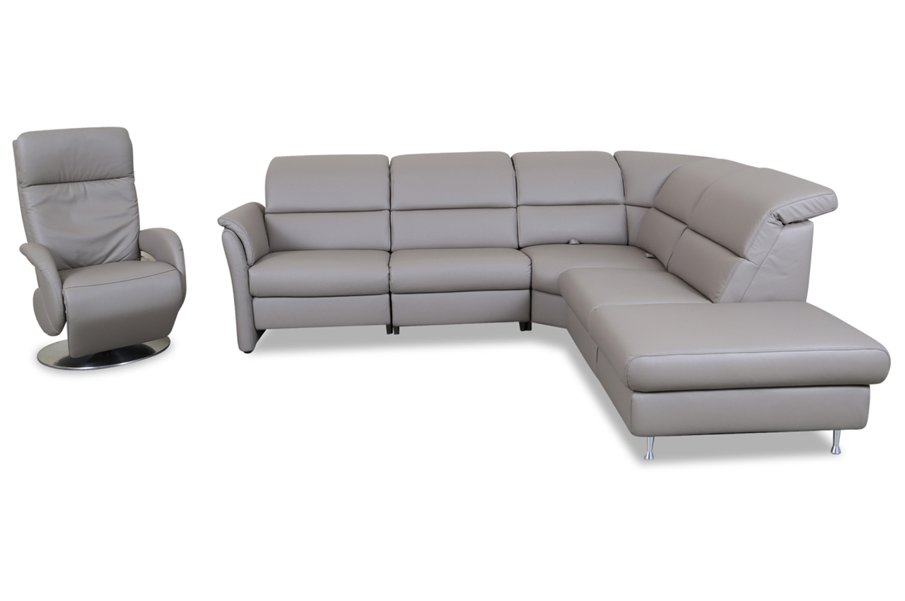 Big Sofa Rundecke Rundecke Leder With Rundecke Leder Good Elegant