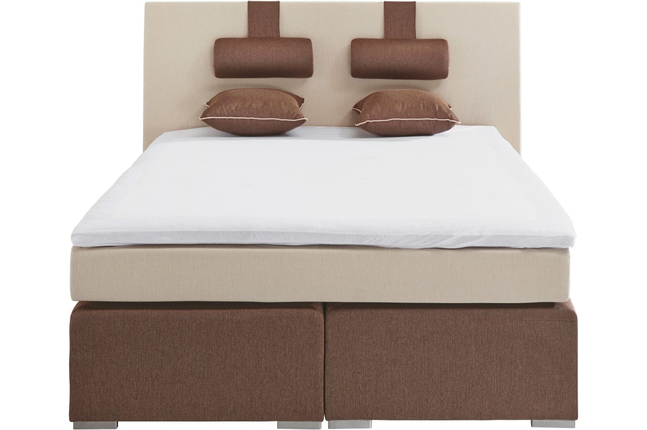 Boxspringbett Creme Atlantic Collection Boxspringbett 140x200 Box 140cm Creme