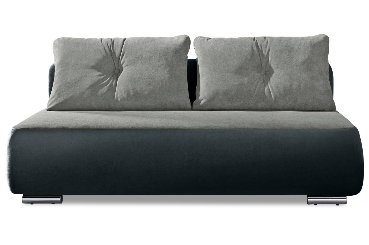 Couch Federkern Collection Ab 3er Sofa Fun Mit Schlaffunktion Anthrazit Mit Federkern