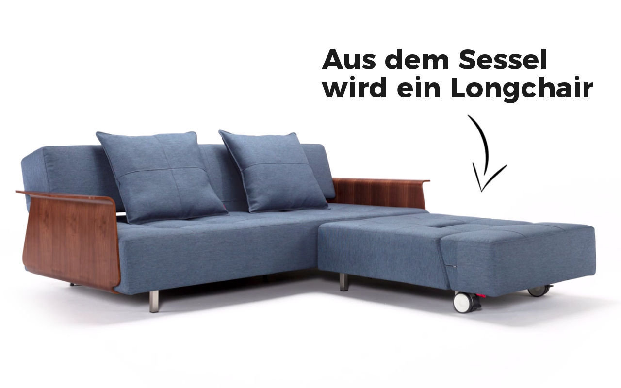 Innovation Schlafsofas Berlin Long Horn Excess Schlafsofa Von Innovation Sofawunder