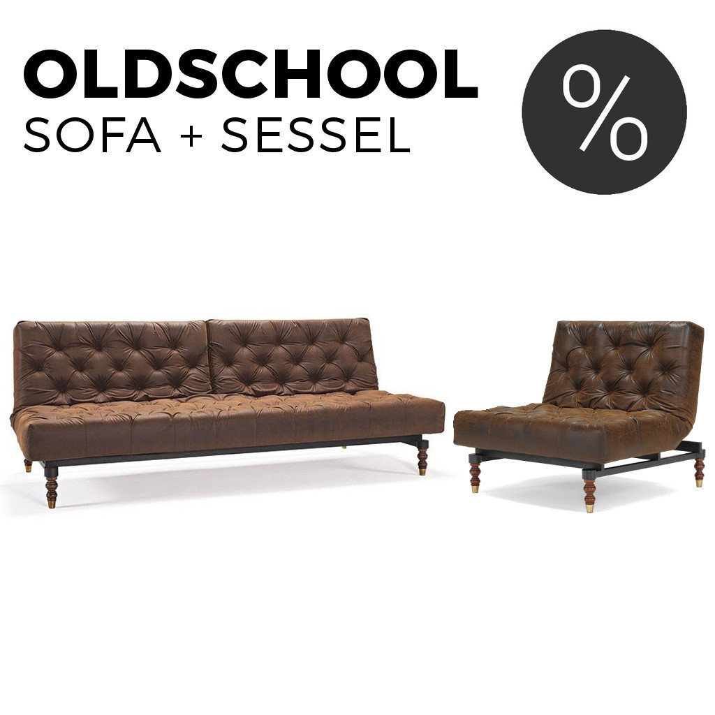 Couch Sessel Sofa & Sessel Set Oldschool Von Innovation Kaufen | Sofawunder