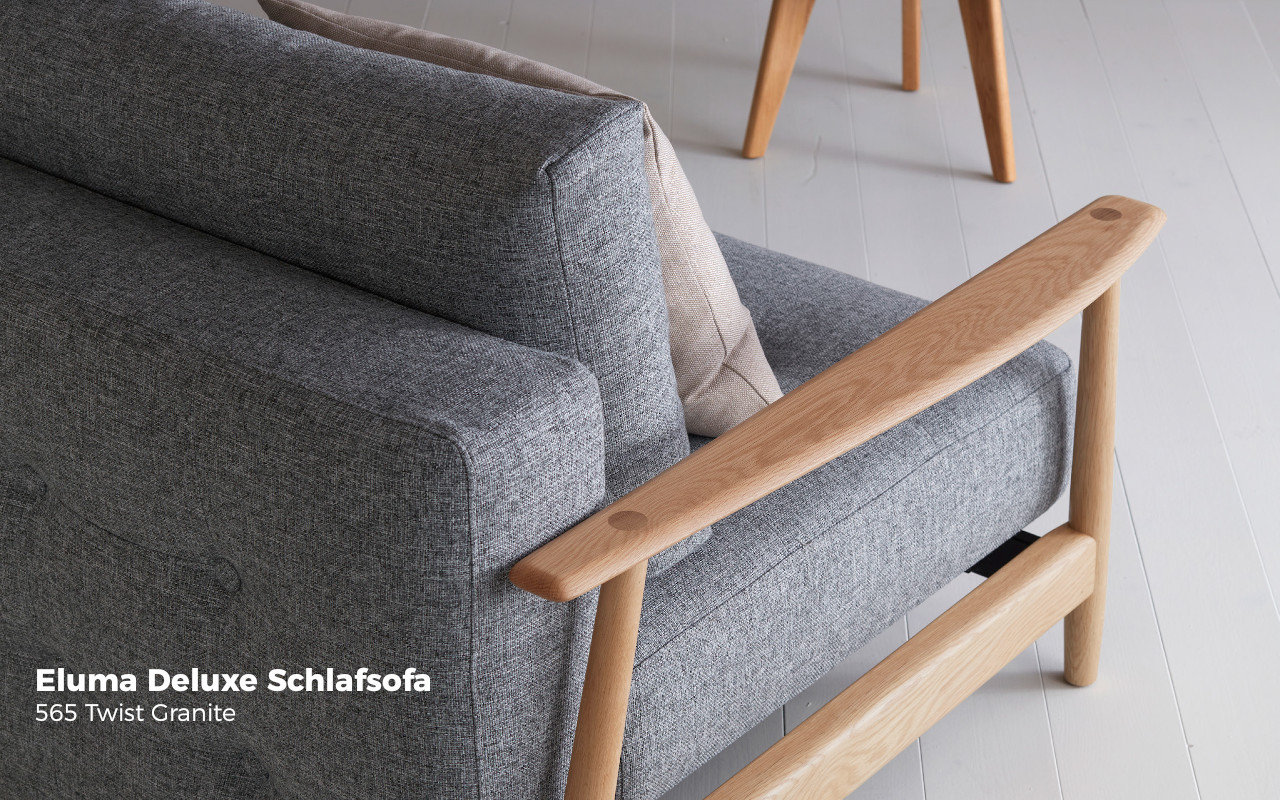 Eluma Deluxe Button Schlafsofa Von Innovation Sofawunder