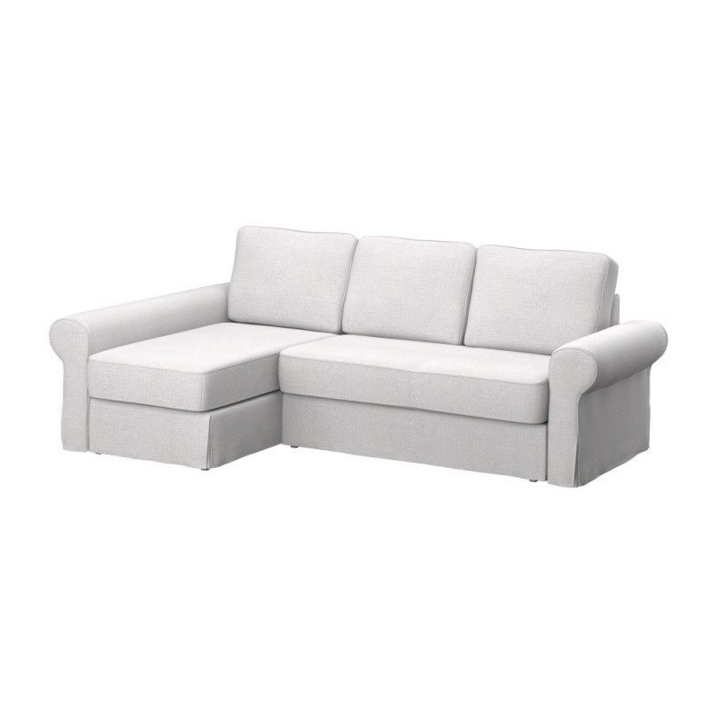 Ikea Sofas Chaise Longue Ikea Backabro Sofa Cover With Chaise Longue - Soferia