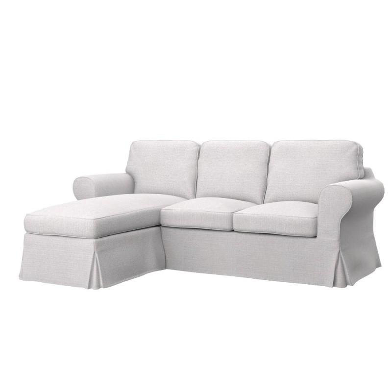 Ikea Sofas Chaise Longue Ikea Ektorp 2-seat Sofa With Chaise Longue Cover - Soferia