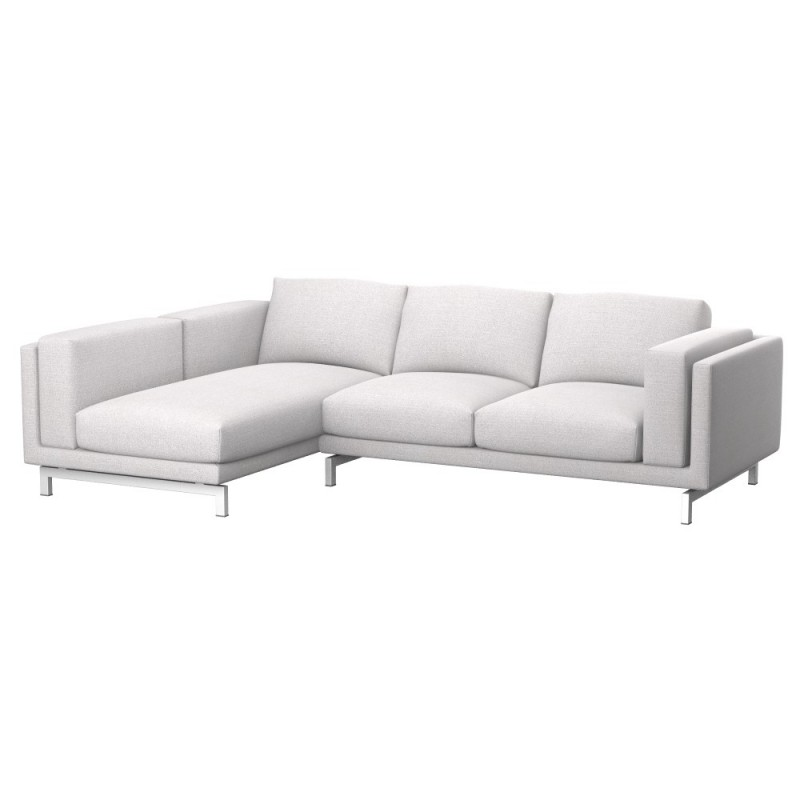 Ikea Nockeby Sofa Ikea Nockeby 2-seat Sofa Cover With Left Chaise Longue