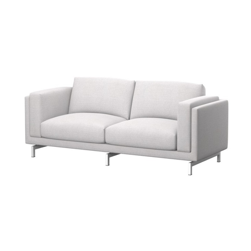 Ikea Nockeby Sofa Ikea Nockeby 2-seat Sofa Cover - Soferia | Covers For Ikea