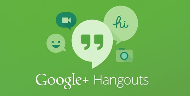 """Hangouts تطبيق المحادثة الفورية """"هانج آوتس"""" للآيفون و الآيباد"""
