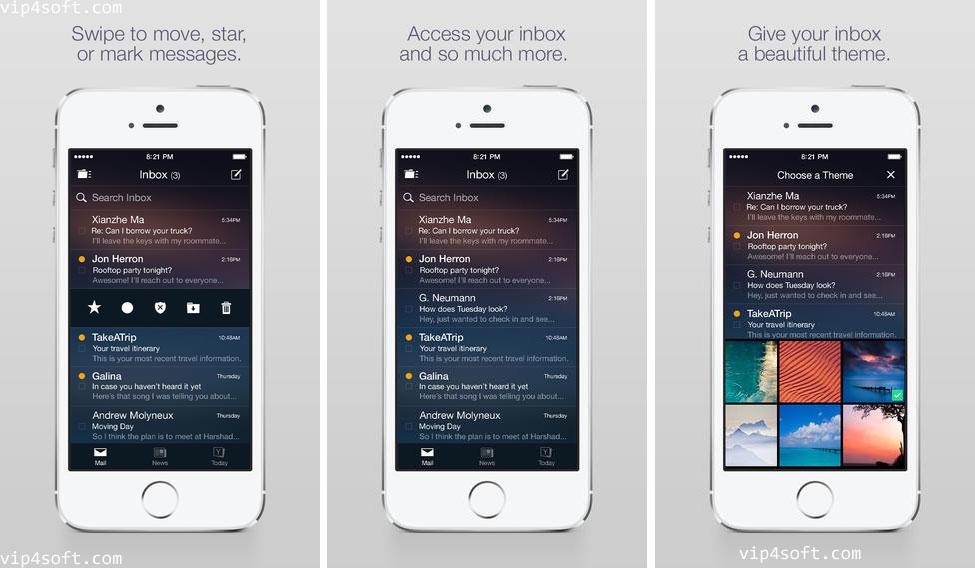 Yahoo Mail تطبيق بريد ياهو للايفون و الايباد